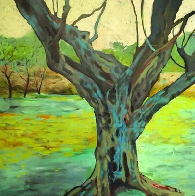 Kathy Dana, 'Van Gogh's Back Yard'