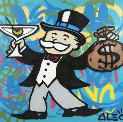 Alec Monopoly, 'Martini Monopoly', 2013