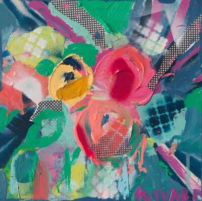 Christy Kinard, 'Floral Abstract', 2019