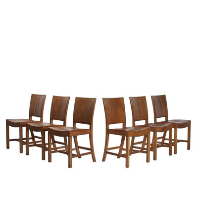 Kaare Klint, 'Set of 6 dining chairs', 1927