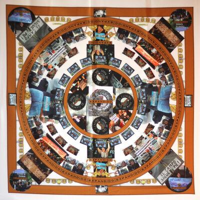 Valentin Demarco, 'Rosalind Krauss, pañuelo conmemorativo del conicto del campo expandido (1979 - 2008)', 2013