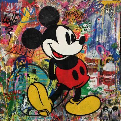 Mr. Brainwash, 'Mickey', 2017