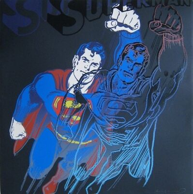 Andy Warhol, 'Superman, from Myths', 1981