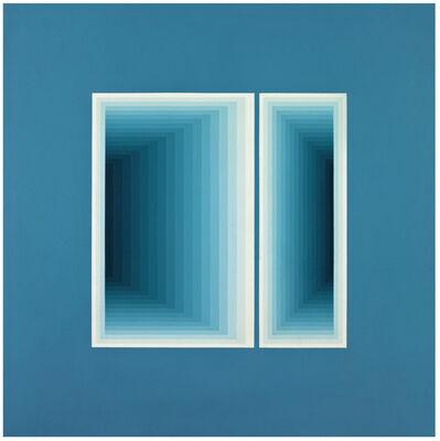 Sara Modiano, 'Posibilidad de dos ventanas N.3', 1977
