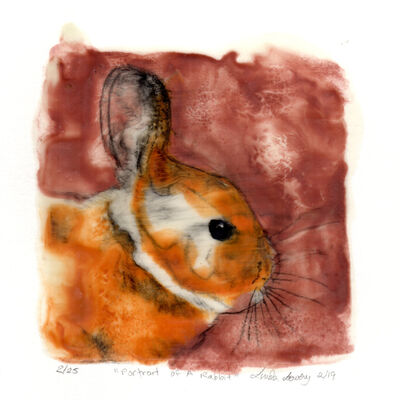 Linda Lowery, 'Portrait of A Rabbit', 2019