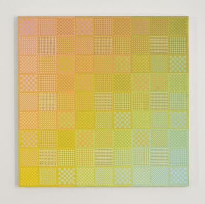 Sanford Wurmfeld, 'II-25 (Yellow DN-LN)', 1983