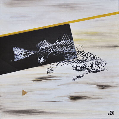 Krayon, 'Fishes n°5', 2018