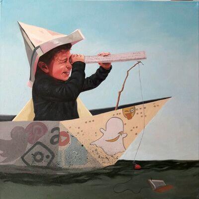 Julian Martinez, 'Fishing for Knowledge', 2018