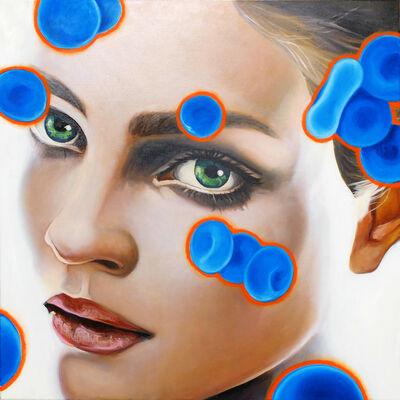 Manzur Kargar, 'Blue Blood Cells 6'