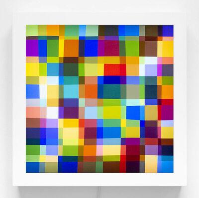 Spencer Finch, 'Color Test (225)', 2019