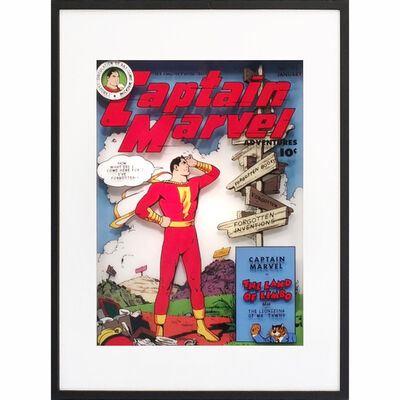 Michael Suchta, 'Captain Marvel Vol.16, No.92', 2017