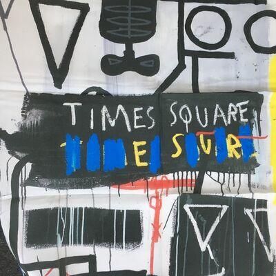 Jean-Michel Basquiat, 'Basquiat Five Fish Species Silk Scarf (after) ', 2017