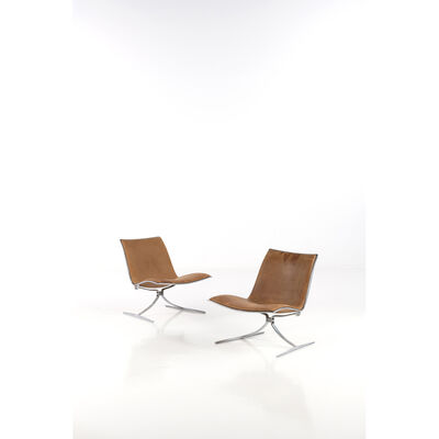 Preben Fabricius, 'Skaters, Pair of fireside chairs', 1968