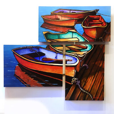Lou O'Keefe, 'Woodies', ca. 2015
