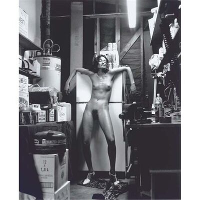Helmut Newton, 'Handle with care (Domestic Nude)', ca. 1970