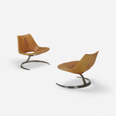 Preben Fabricius, 'Scimitar chairs, pair', 1962
