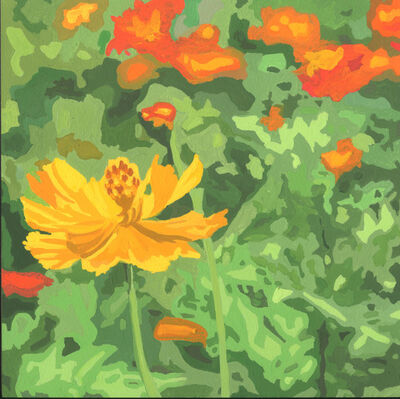 James Oliver (1972), 'Wildflower Composition (California Poppy#15)'