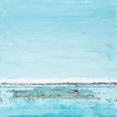 "John Schuyler, '""Cielo Blue #41"" abstract blue diptych', 2010-2018"