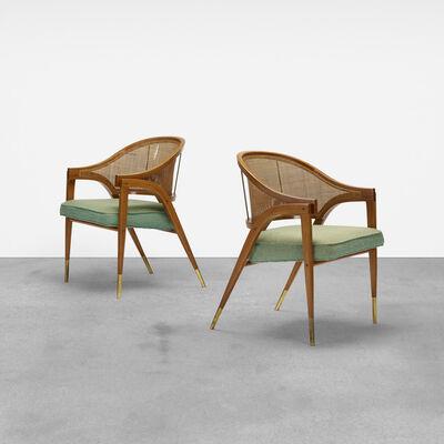 Edward Wormley, 'Armchairs Model 5480, Pair', 1954