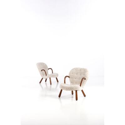 Philip Arctander, 'Clam, Pair of armchairs', 1940