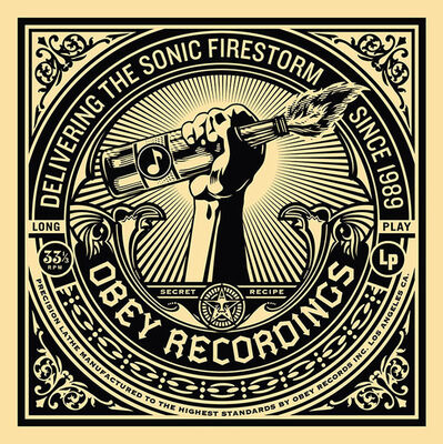 Shepard Fairey, '50 Shades of Black Box Set: Sonic Firestorm', 2014
