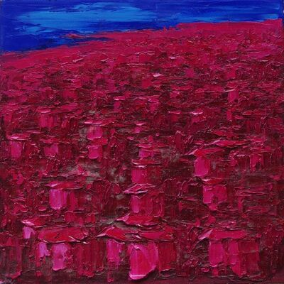Yu Nancheng, 'Red Houses in Qingdao ', 2014