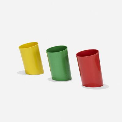Enzo Mari, 'Koro wastepaper baskets, set of three', 1970