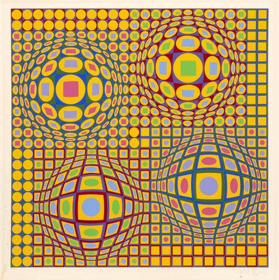 Victor Vasarely, 'Quadrature', 1979