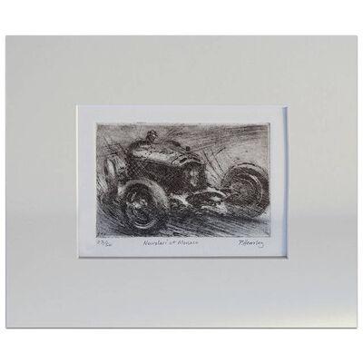 Peter Hearsey, 'Nuvolari at Monaco', 2015