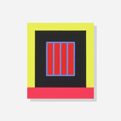 Peter Halley, 'Black Prison', 2015