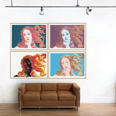 Andy Warhol, 'Full matching number portfolio: Birth of Venus', 1984