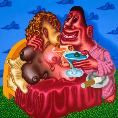 Peter Saul, 'Viva la Difference', 2008
