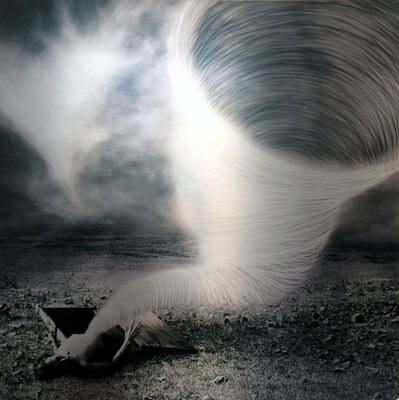Jon McCallum, 'Figure in Landscape with Tornado', 2014