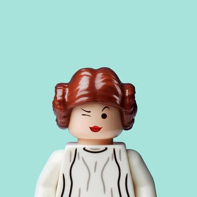 Dale May, 'Princess Leia (Tiffany Blue)'