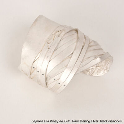 Darcy Miro, 'Layered and Wrapped Cuff '