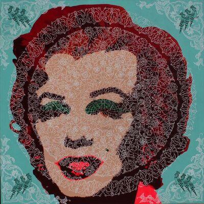 Mahmood Sabzi, 'Red & Pink Marilyn', 2015