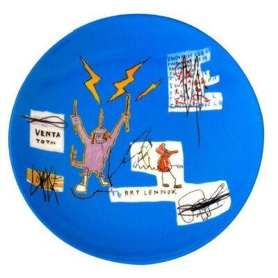 Jean-Michel Basquiat, 'Venta Porcelain Plate'