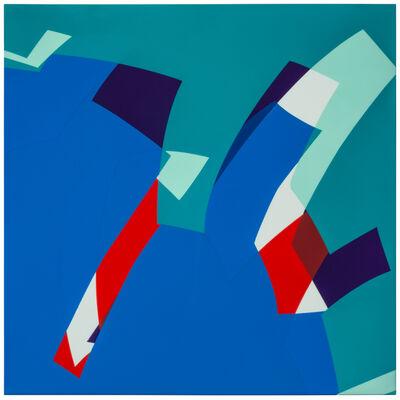 Manuel Ojeda, 'MTCAL 6/2 Verde - Azul', 2017