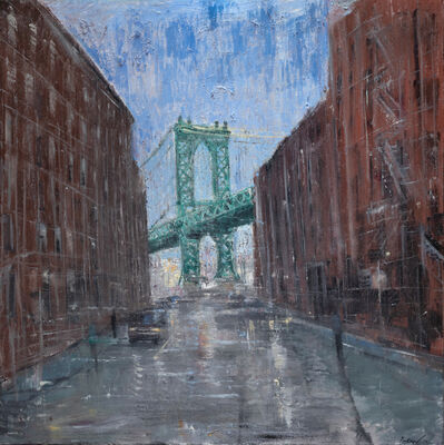Gregory Prestegord, 'Manhattan Bridge Study', 2018