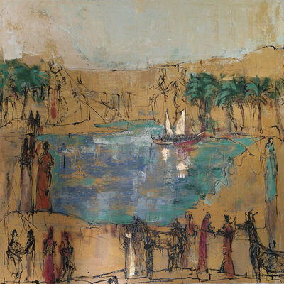 David Daoud, 'Empreinte Souvenir du Nil', 2018