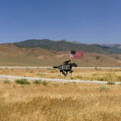 Daniel Mirer, 'Pony Express Trail, US 50, Nevada', 2017