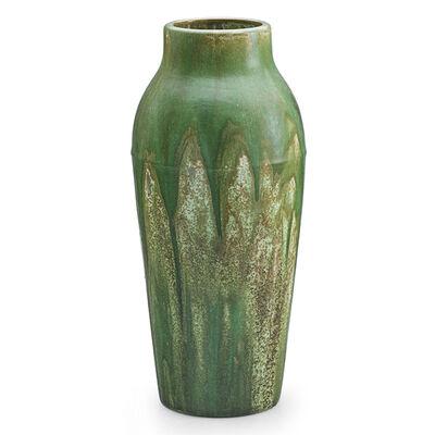 Fulper Pottery, 'Tall Vase, Flemington, NJ', 1910s-20s