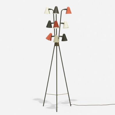 Gerald Thurston, 'floor lamp', 1954
