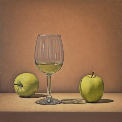 Tom Gregg, 'Two Apples and Wine'