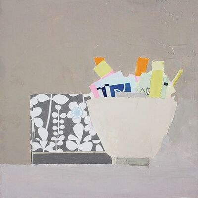 Sydney Licht, 'Still Life with Packets and Box', 2015