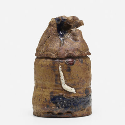 Robert Arneson, 'Untitled (lidded vessel)', 1963