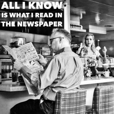 Andy Marx, 'Newspaper Man'