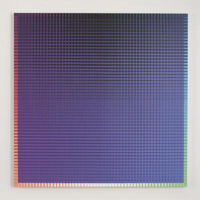 Sanford Wurmfeld, 'II-16 + B (V-Black)', 2001