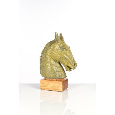 Gunnar Nylund, 'Horse head, Sculpture', circa 1940