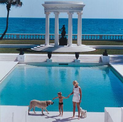 Slim Aarons, 'Villa Artemis in Palm Beach, Florida', 1955